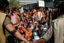 Women's quota bill: RJD, SP protest