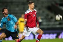 Aston Villa sign giant Denmark striker Helenius