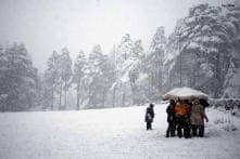 Cold wave grips Kashmir, Leh minus 12.6