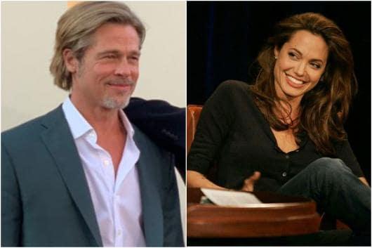 Image of Brad Pitt, Angelina Jolie, courtesy of Instagram