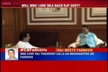 Raj Thackeray meets Fadnavis, refuses to clarify on his support to BJP in Maharashtra Assembly