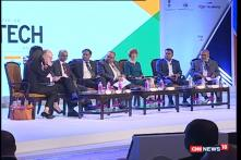 Watch: India-UK Tech Summit In New Delhi