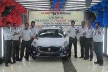 Maruti Suzuki Exports 1 Millionth Car From Gujarat's Mundra Port