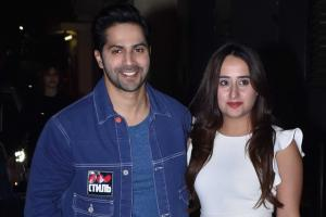 Varun Dhawan Takes GF Natasha Dalal To Watch Street Dancer 3D - PICS