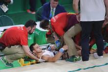 French Gymnast Samir Ait Said Aims for Tokyo 2020 Despite Horror Leg Break