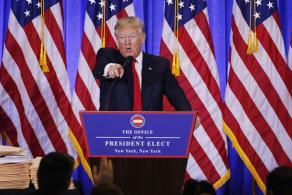 Trump Warns Journalists, Calls Them Most Dishonest Human Beings