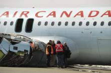 Air Canada Passengers Go Flying into Ceiling as Intense Turbulence Hits Plane, Over 35 Injured