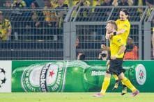 Borussia Dortmund secure 2-0 win over Arsenal in Champions League