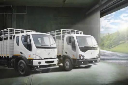 Ashok Leyland Boss and Guru trucks launched in India. (Image: Twitter/Ashok Leyland)