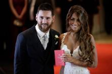 Lionel Messi and Antonella Roccuzzo's wedding ceremony