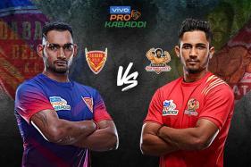 Pro Kabaddi 2019 HIGHLIGHTS, Dabang Delhi vs Gujarat Fortunegiants in Pune: Delhi Beat Gujarat 34-30