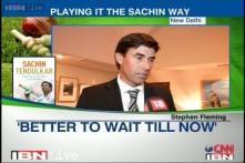 Playing it the Sachin way: Stephen Fleming on Sachin's autobiography