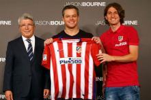 Atletico Madrid 'Sign' Film Star Matt Damon
