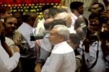 Watch: Modi ignores Nitish, walks past him at internal security meet