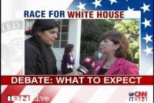 US Presidential debate: What do people look for?