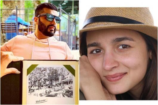 Arjun Kapoor Trolls Alia Bhatt Over African Safari 'vlog ...