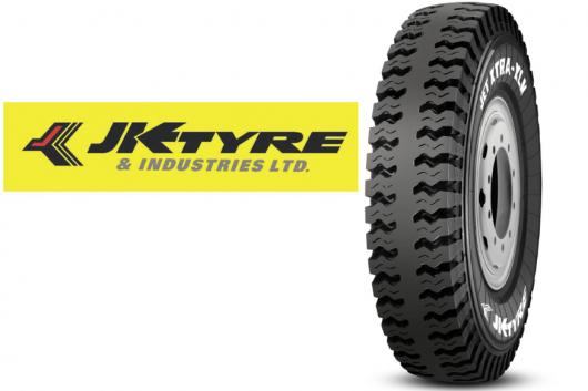 The  Jet Xtra XLM Tyre (Image Source: JK Tyres/ Image altered by News18)