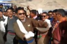 BJP MP, Who Won Plaudits For Parliament Speech, Dances to Celebrate Ladakh's New UT Status