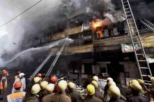 Fire Breaks Out in Kolkata's New Town, Two Injured