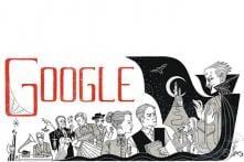 Bram Stoker books doodled on his 165th birthday
