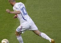 Zidane equals WC final goal record