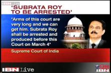 SC cracks the whip on Sahara, Subrata Roy faces arrest