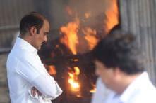 Vinod Khanna's funeral in Mumbai
