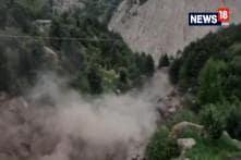 Massive Landslide In Himachal Pradesh's Kinnaur