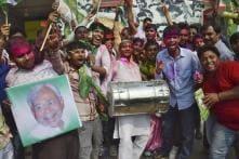Bihar's vote and DNA with Nitish and Lalu, Mahagathbandhan routs NDA