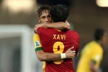 Xavi happy with new coach Martino and Neymar