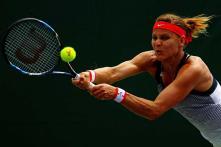 Safarova Rallies to Beat Stosur at Prague Open Final