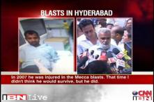 Hyderabad: Mecca Masjid blast survivor among those injured