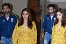 Valentine's Day Date! Alia Bhatt Hosts Private Screening of 'Gully Boy' for Ranbir Kapoor; Pics