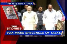 News 360: Pak made spectacle of talks, says PM Modi