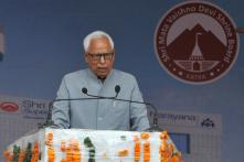 No Change in Jammu and Kashmir Governor, NN Vohra to Stay