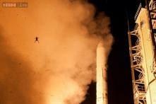 Photobomb: Frog launches itself into NASA photo of LADEE moon probe launch