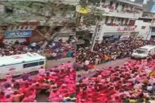 Watch: Devotees Win Hearts by Making Way for Ambulance Amidst Ganesh Chaturthi Procession