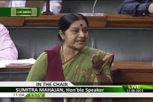 When Meira Kumar Interrupted Sushma Swaraj 60 Times in a 6-minute Speech