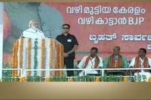 Modi Slams Congress, CPM in Kerala