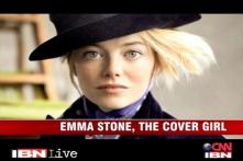 Emma Stone, the Vogue cover girl