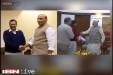Kejriwal meets PM Modi, demands full statehood for Delhi