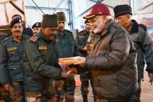 PM Narendra Modi Celebrates Diwali with Soldiers Near India-China border