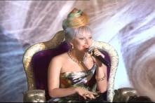 Lady Gaga turns alien for 'Men In Black 3'