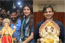 Ganesh Chaturthi 2019: Shilpa Shetty, Vivek Oberoi, Sonu Sood Bring Ganpati Home, See Pics