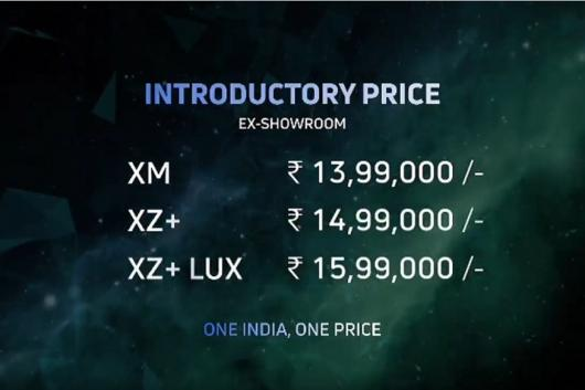 Tata Launches Nexon EV at Rs 13.99 Lakh, India's Most-Affordable Electric SUV