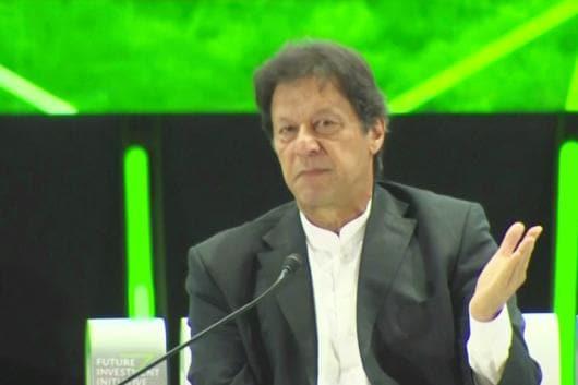 File photo of Pakistan PM Imran Khan.
