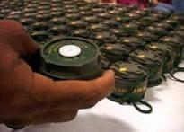 543 landmines recovered in Kolkata