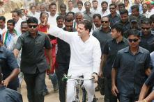 Karnataka Elections 2018: Rahul Gandhi's Roadshow in Kolar