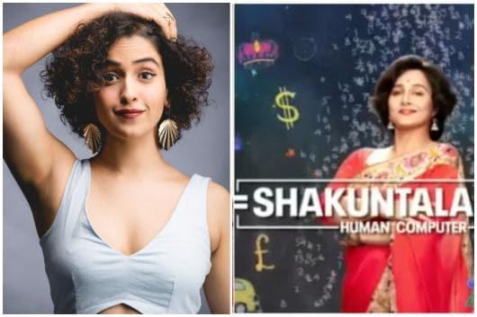Sanya Malhotra to Star with Vidya Balan as Her Daughter in Shakuntala Devi Biopic