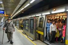 Services on Delhi Metro's Violet Line Disrupted Due to Technical Glitch Today